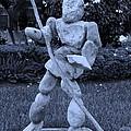 Stoneman In Cyan by Rob Hans