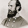Stonewall Jackson Confederate General Portrait by Anonymous