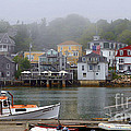 Stonington Harbor 2 by Laura Mace Rand