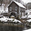 Stony Brook Grist Mill Of Brewster by Amazing Jules