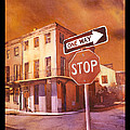 Stop- French Quarter Ahead by Ryan Fox