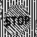 Stop Sign Maze by Yonatan Frimer Maze Artist