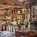 Store Room At Fort Michilimackinac by Evie Carrier