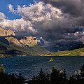 Storm Above St. Mary Lake by Kathleen Bishop