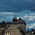 Storm Above Town by Jill Battaglia
