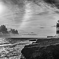 Storm Approaching Hook Head by Nigel R Bell