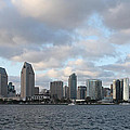 Storm Approaching San Diego  by John Telfer