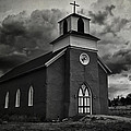 Storm At San Rafael Church by Priscilla Burgers