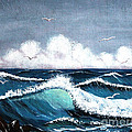 Storm At Sea by Barbara Griffin