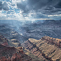 Storm At The Canyon by Christian Heeb