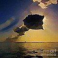 Storm Cloud Over Calm Waters by John Malone