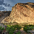 Storm Clouds Above Split Mountain Dinosaur National Monument by Gary Whitton