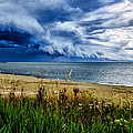 Storm Clouds In Door County by Ed Fiske