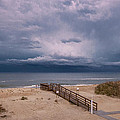 Storm Clouds On The Outer Banks by Mary Almond