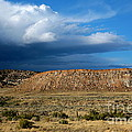 Storm Clouds Over Central Wyoming by Carol Groenen