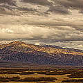 Storm Clouds Over Snowy Peaks #2 by Stuart Litoff