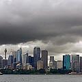 Storm Clouds Over Sydney by Stuart Litoff
