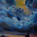 Storm Coming At The Sunset by Alessandra Andrisani