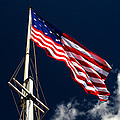 Storm Flag At Fort Mchenry by Bill Swartwout Fine Art Photography