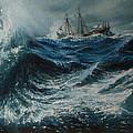 Storm In The Sea by Shobita Sreekumar