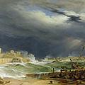 Storm Malta by John or Giovanni Schranz