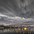 Storm Moving In Over Chattanooga by Steven Llorca