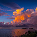 Storm On Tampa by Marvin Spates