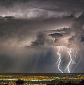 Storm Over Albuquerque by Alan Toepfer