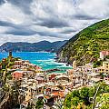 Storm Over Cinque Terre by JR Photography