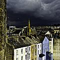 Storm Over Conwy by Elvis Vaughn