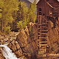 Storm Over Crystal Mill by Tonya Hance