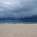 Storm Over Lake Michigan by Susan Wyman