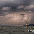 Storm Over Myers Point by Michele Steffey
