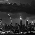 Storm Over Nyc  by Jerry Fornarotto