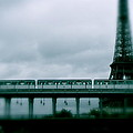 Storm Over Paris by Ira Shander