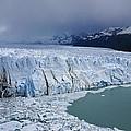 Storm Over Perito Moreno by Michele Burgess