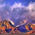 Storm Over Sedona by Dominic Piperata