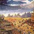 Storm Over The Desert by Betty and Kathy Engdorf and Bosarge