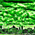 Storm Over The Emerald City by David Patterson