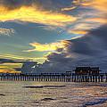 Storm Over The Pier by Sean Allen