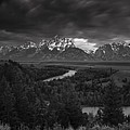 Storm Over The Tetons by Andrew Soundarajan