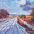 Storm Passing by David Lloyd Glover