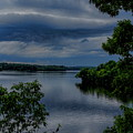Storm Rolling Over Lake Wausau by Dale Kauzlaric