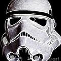 Storm Trooper Helmet by Paul Ward