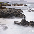 Storm Waves And Cliffs by John Shaw