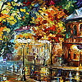 Storming Night by Leonid Afremov