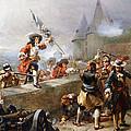 Storming The Battlements by Robert Alexander Hillingford