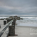 Stormy Beach Forcast by Dale Powell