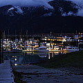 Stormy Boat Harbor by Will Dudley