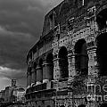 Stormy Colosseum by James Lavott